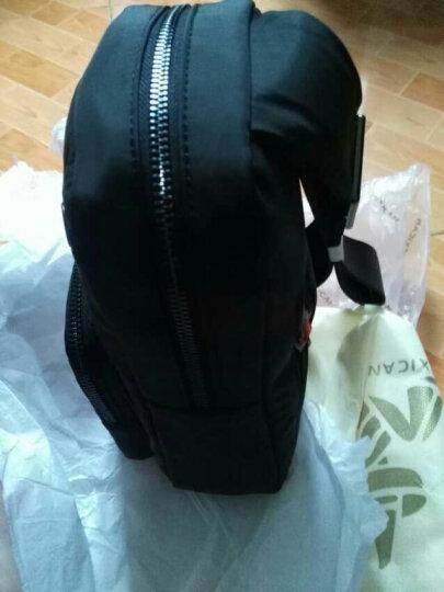 稻草人MEXICAN男士胸包时尚韩版休闲挎包商务男包单肩包尼龙布包MLK90063M-01黑色 晒单图