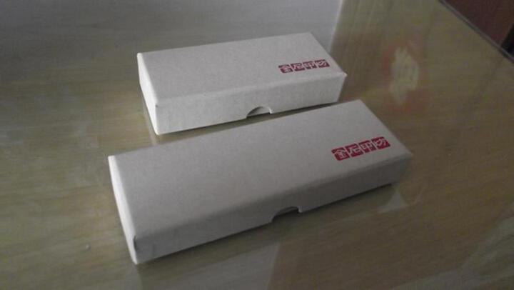 金石印坊 墨绿冻平头方章 多种规格 篆刻印章练习石 整盒出售 5枚装2.5X2.5X5CM 晒单图