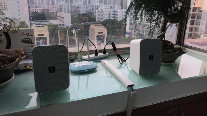 JBL Control X Wireless 有源无线高保真监听音响 蓝牙便携音箱 低音炮  桌面电脑音箱  白色 晒单图