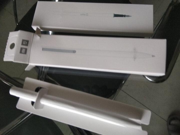 小米(MI) 米家签字笔 中性笔0.5mm油墨笔黑色水笔学生文具办公用品 金属签字笔-金色+笔芯1盒(3支) 晒单图