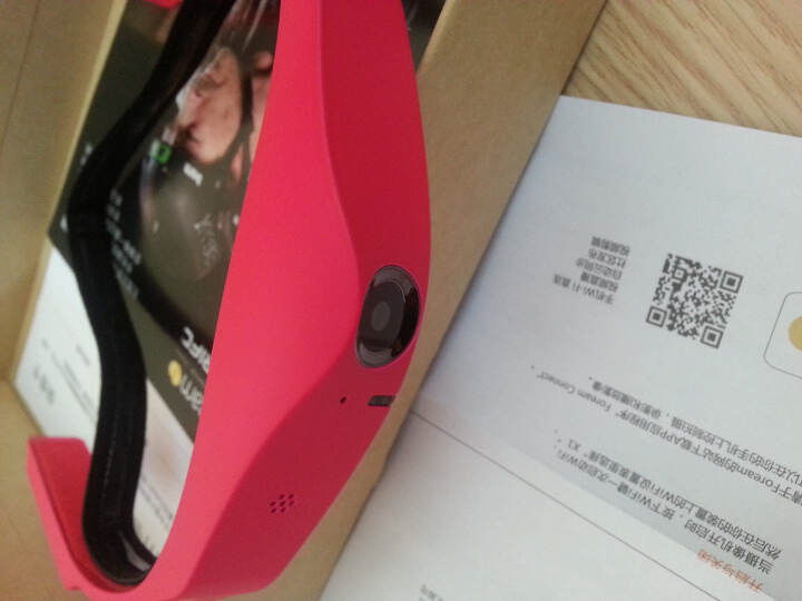 风云客(Foream) 星影X1 可穿戴 互联网 视频社交化 摄像机 魅惑红 晒单图