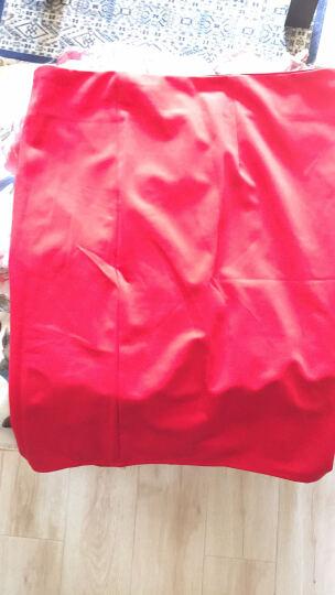 靖雨姬性感连衣裙夜店女装雪纺2019夏装韩版时尚气质修身显瘦无袖挂脖吊带印花包臀紧身裙 红色上衣 XL 晒单图