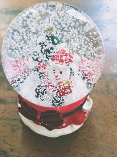 七夕节礼物 情人节礼物 水晶球音乐盒八音盒送儿童孩子生日礼物送女友薰衣草小熊摆件情侣送女生闺蜜老婆 浪漫唯美 晒单图