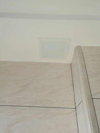 颂余 白色铝合金检修口可定做 吸磁按开式 锁式 托盘式 墙体管道检修口 预留孔吊顶卫生间厨房检修孔 200*200 晒单图