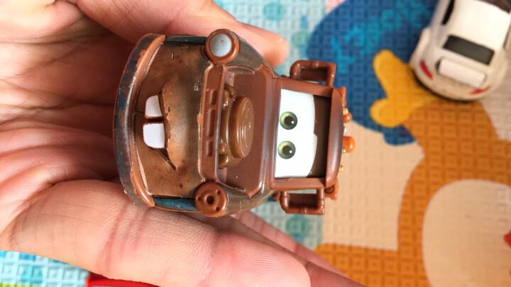 汽车总动员麦昆合金玩具消防车卡车组合套装小汽车组合滑行男孩玩具 消防车(小红) 晒单图