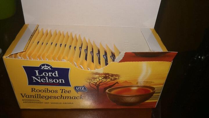 Lidl历德 Lord Nelson香草味南非博士茶2g*25包*2 欧洲进口 冲调饮品 晒单图