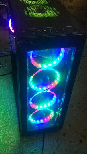 SAHARA 玻璃机箱 海盗系列机箱 撒哈拉DIY台式电脑游戏机箱 水冷风冷方案机箱 海盗P18机箱白 晒单图