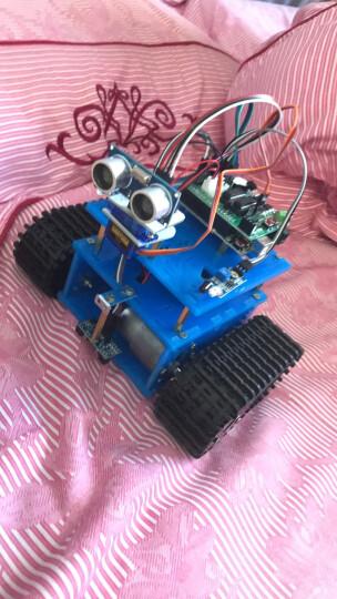 机器人套件 arduino履带小车底盘 循迹 避障遥控WIIF智能小车 B套餐蓝牙控制 国产UNO 晒单图