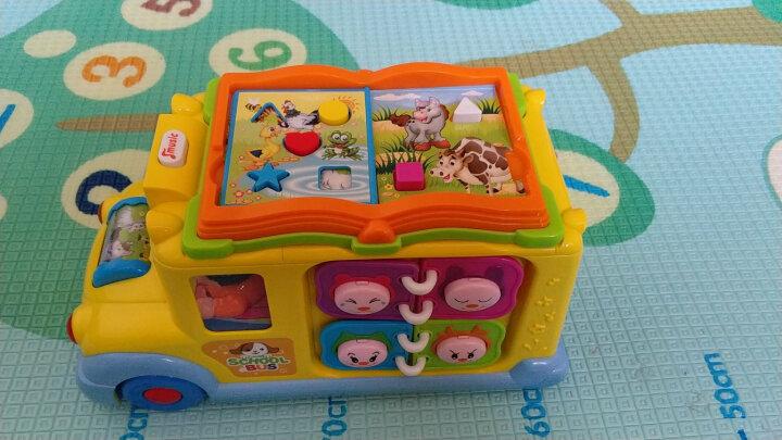 汇乐玩具(HUILE TOYS) 汽车玩具卡车工程车校园巴士全能救护车警车男孩女孩玩具 汇乐796智育校园巴士 晒单图
