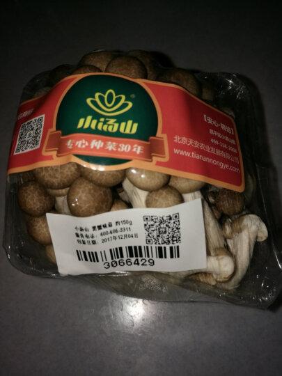小汤山 黑蟹味菇 约150g 新鲜蔬菜 蘑菇 晒单图