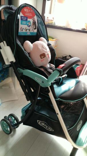 葛莱 美国graco可坐可平躺折叠高景观手推车轻便双向避震加宽婴儿BB新生儿宝宝慧智 清晰蓝 晒单图