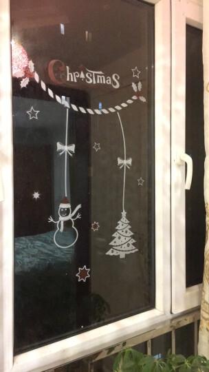 圣诞墙贴装饰圣诞节橱窗玻璃贴纸自粘装饰品圣诞贴纸麋鹿圣诞老人雪人装饰贴画窗贴元旦新年装饰贴纸 P 圣诞物语 大 晒单图