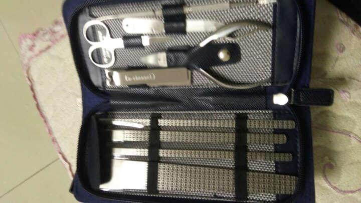 修甲美甲修脚刀套装修脚工具刮脚刀指甲刀指甲钳套装礼物 格子料包装 晒单图