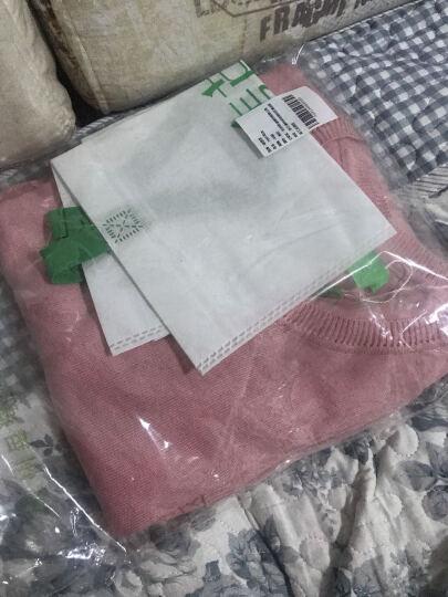 唛芭芘孕妇装秋装上衣韩版毛衣中长款针织衫春秋套头孕妇毛衫7001 粉红色 M 晒单图