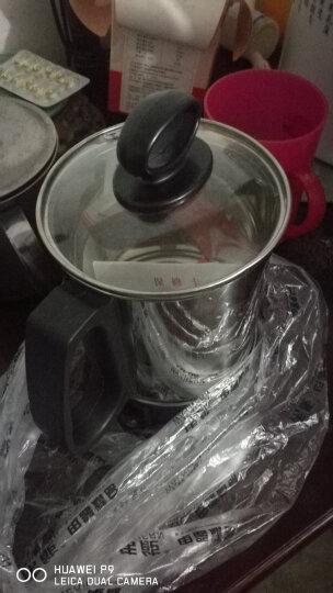 不锈钢电热杯电煮杯烧水杯热牛奶迷你煮粥杯旅行便携小型加热水杯 G-11电热杯 晒单图
