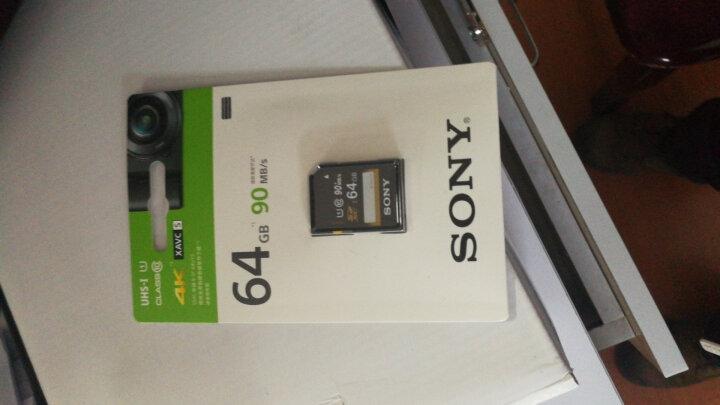 SONY 索尼高速存储卡 SD卡 索尼专业摄像机 微单 黑卡 家用 长焦相机 存储卡 含税票送读卡器 索尼存储卡64UY3  90M/秒 含税票 送读卡器 晒单图