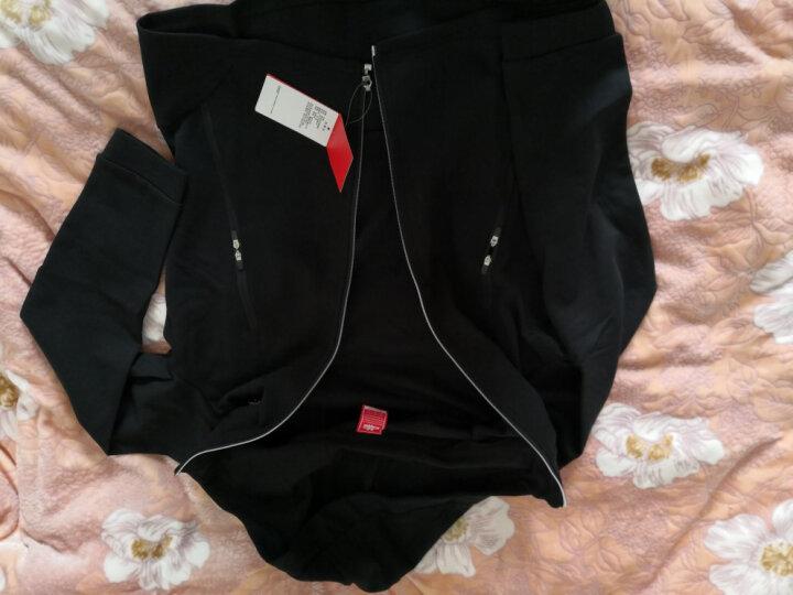 Kappa卡帕 男款运动卫衣休闲长袖开衫帽衫外套|K0752MK05 段彩蓝-089 XL 晒单图