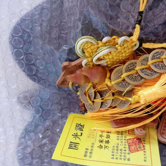 雕刻桃木斧平安符剑汽车挂件饰品钥匙扣保平安工艺礼品 步步高升符 晒单图
