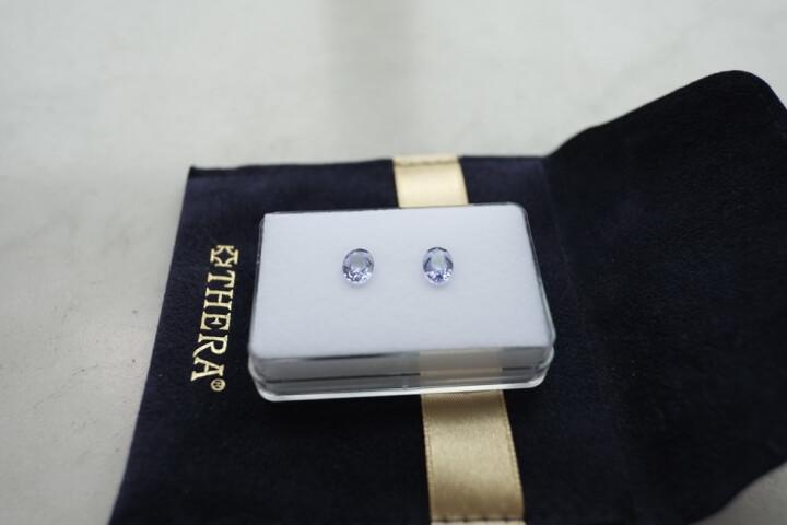 THERA彩宝 坦桑石,天然坦桑石,坦桑石裸石,坦桑石戒指面,新年的礼物T001 纯圆形7×7×5mm 晒单图