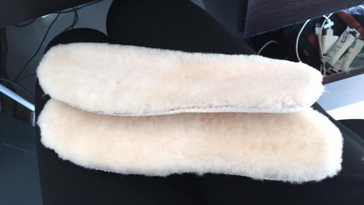 JUMBOUGG 简帛澳洲冬季羊皮毛一体加厚保暖男女雪地靴鞋垫 1002 沙色 女39 晒单图