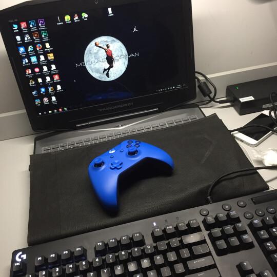 【电脑通用】微软 (Microsoft) Xbox无线控制器/手柄 湛蓝色 (带3.5mm耳机接头) 晒单图