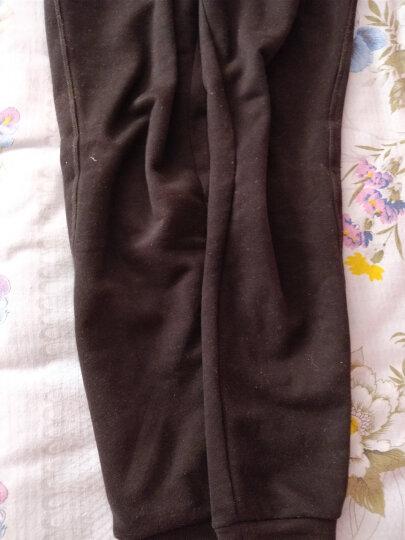 安踏女装2019春季新款女针织运动长裤收腿小脚裤运动女裤 96637765 7765基础黑-1 M/165 晒单图
