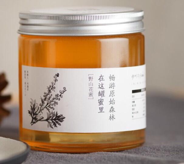 那时花开(nashihuakai) 野山花蜜蜂蜜野生土蜂蜜原蜜结晶550g 晒单图