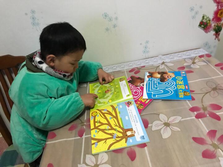 熊熊乐园小迷宫大冒险 丛林篇 雪地城市节日篇全套4册 3-6岁幼儿童益智游戏迷宫专注力书 晒单图