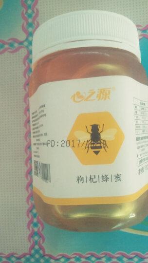 心之源枸杞蜂蜜1000g 宁夏农家自产正品天然野生纯蜂蜜 晒单图