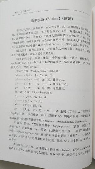 五十奥义书(修订本) 晒单图