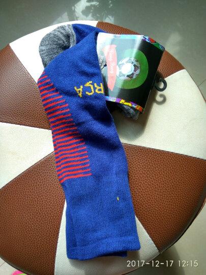新款加厚毛巾底袜子 巴萨皇马切尔西足球袜男女吸汗长筒袜球员版国家俱乐部儿童足球袜子 皇马紫色 成人均码  袜子 晒单图