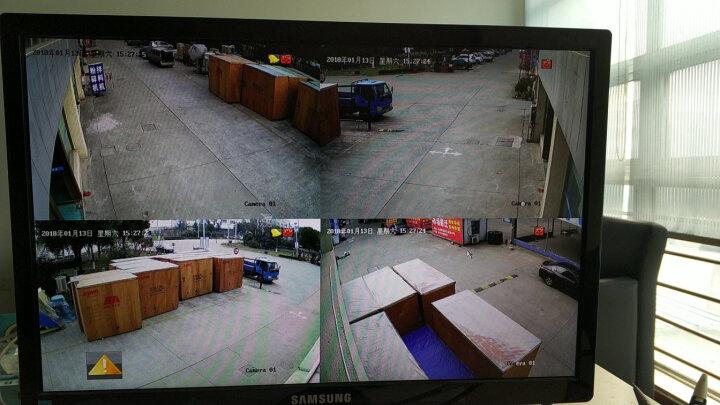 海康威视摄像头高清POE网络红外夜视监控器家用一体机监控摄像机室外防水搭配硬盘录像机设备套装 200万全彩DS-2CD3T27EWD-L 6mm 晒单图