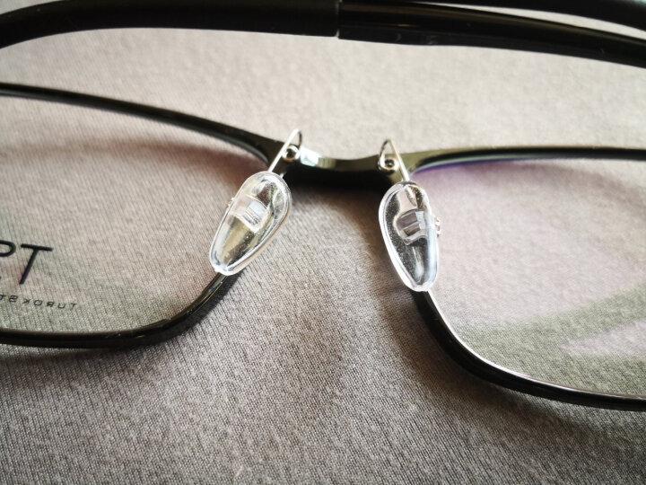 小米(MI)TS眼镜框 方形黑色男女款ULTEM钨钛超轻 米家定制近视光学镜架 晒单图