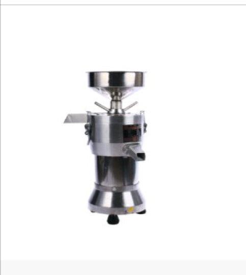 纳丽雅 磨浆机商用电动浆渣分离豆浆机不锈钢多功能打浆机豆腐机 100型不锈钢精品款 晒单图