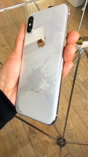 韩喜 苹果X/XS/XR手机壳XSMAX防摔套10x玻璃iphoneX新款液态硅胶全包透明男女款 苹果XS【午夜蓝】全包液态壳-内含散热网格 晒单图
