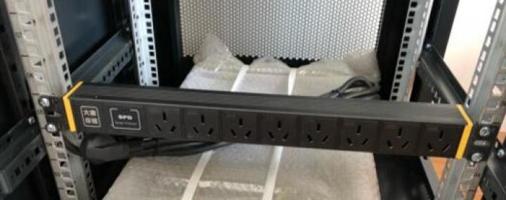 大唐保镖 工业PDU插座PDU插排PDU电源机柜插座功率4000W 3米线缆 HP7703 防雷8位16A国标孔 16A输入16A输出 晒单图