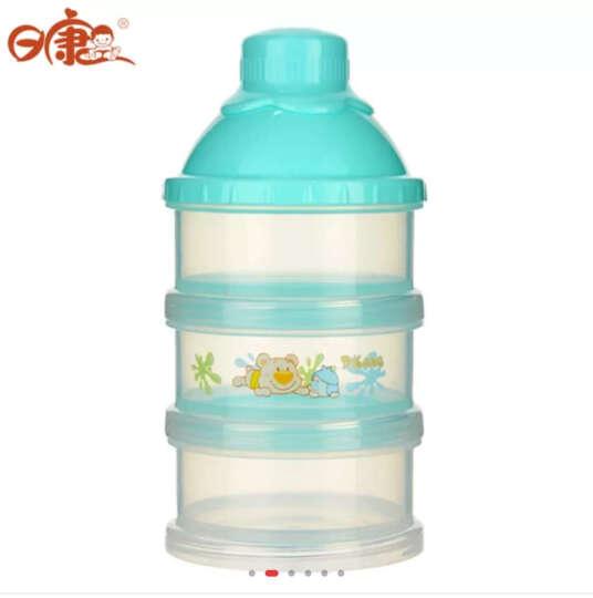 日康 初生型三层奶粉盒 婴儿新生儿便携格装奶粉存储RK-3615 黄色 晒单图