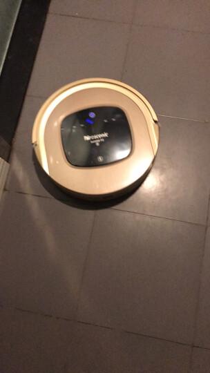 浦桑尼克(Proscenic) P2S智能扫地机器人 自动拖地擦地一体机 家用吸尘器1800PA吸力 土豪金 晒单图