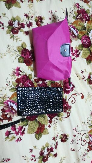 若伊 品牌 新款优雅时尚化妆钱包 品质韩版大容量防水化妆包 杂物包便携收纳包 黄色 晒单图