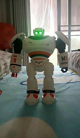【正版授权】智能机器人电动跳舞机械人早教多功能阿尔法伯特可编程玩具 凯迪威乐-白 晒单图