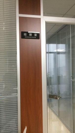 简约黑色亚克力科室牌门牌标识牌办公室工厂企业门牌门号牌标牌提示牌 会议室 晒单图