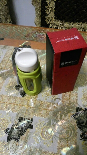居元素水精灵口袋杯随身杯 橄榄绿 晒单图