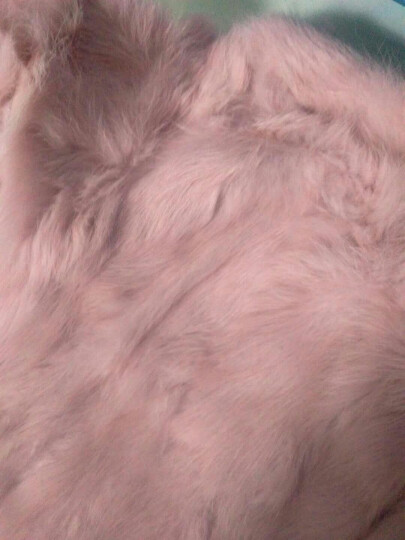 索熙(soocxi) 索熙童装女童外套儿童韩版春装风衣2018新品春秋季女宝宝上衣 真毛皮草粉色 120 晒单图