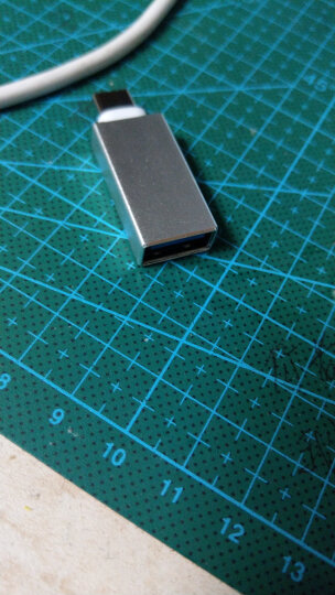 Capshi Type-C数据线转接头 USB3.0安卓手机OTG转换器 金 华为P10/mate9/荣耀V8/麦芒5/三星S8/小米5S6乐视 晒单图