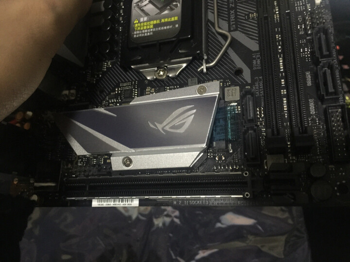 玩家国度(REPUBLIC OF GAMERS)ROG STRIX Z370-I GAMING 主板(Intel Z370/LGA 1151) 晒单图