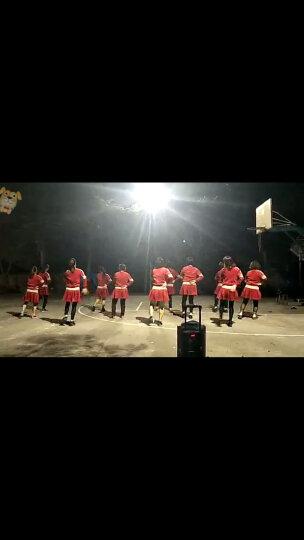 迈舞冬季新款广场舞服装套装 加绒加厚保暖舞蹈服 运动卫衣套装表演服 演出服 酒红裤装-加绒 6XL 晒单图