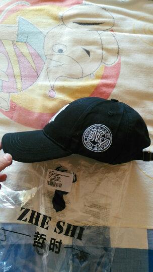 哲时 情侣棒球帽子男女士嘻哈鸭舌帽街舞户外运动防晒太阳遮阳帽MZ1191 藏蓝色 可调节55-60CM头围 晒单图