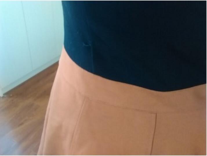 彩婷果连衣裙2018春夏女装新款韩版假两件套套装裙性感印花大码背心性感时尚雪纺套装女5321 图片色 L 晒单图