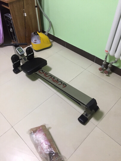 驰尚阻力划船器机家用静音双臂单拉划力训练拉力器 腰部锻炼器健身器材 晒单图