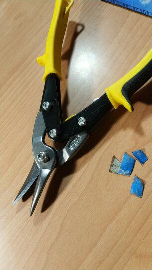 波斯(BOSI)BS273101 不锈钢工业航空剪铁皮剪刀铁板白铁剪钢丝网剪10英寸250mm 直头 晒单图
